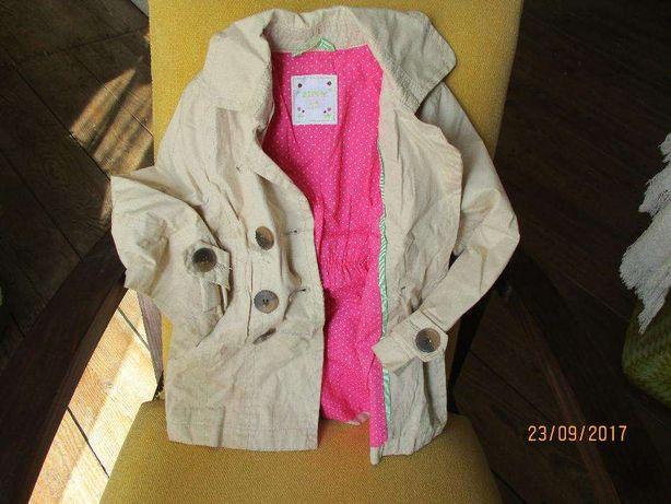 Gabardine Hello Kity, Vestidos, camisas, calças, casacos menina 3/6 an
