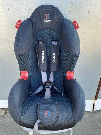 Детское автомобильное кресло с ремнями безопасности «Eternal Shield»