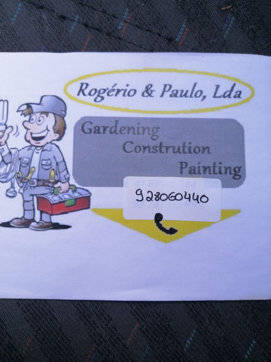 Fazemos manutenção de jardins construções de jardim pinturas limpezas