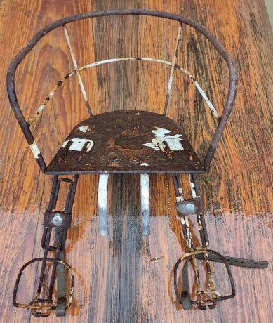 Stare siodełko rowerowe dziecięce Bulldog78