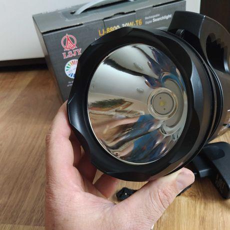 Фонарь прожектор Lj-8800 Фонарь для охоты и рыбалки Переносной фонарь