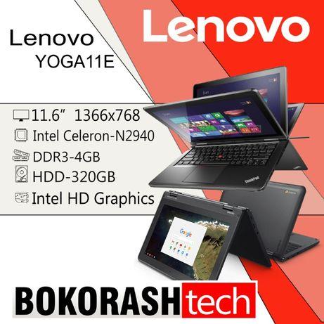 Lenovo Yoga11e (Сенсорный/Celeron N2940/DDR3-4GB/HDD-320GB) к.00129761