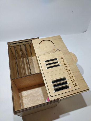 Lashbox, лэшбокс для мастера по наращиванию ресниц новая поставка