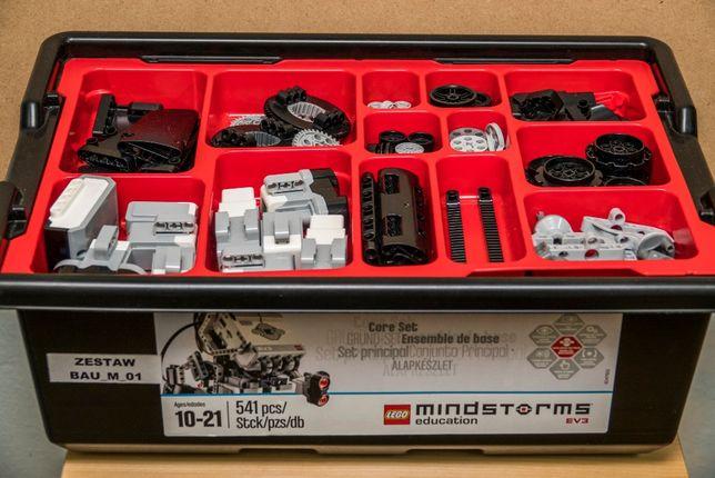 Lego Mindstorms EV3 (45544) + Expansion Set (45560)+ Dodatki za 750zł
