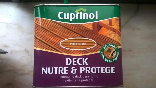 Cuprinol Deck Nutre e Protege - Pinho - SELADO