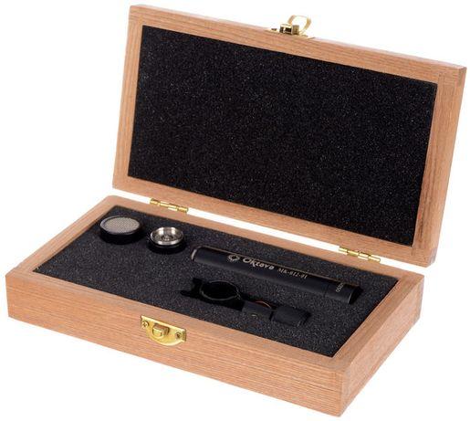 Oktava MK 012-01 Black Wood - Mikrofon pojemnościowy małomembranowy