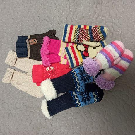 Детские варежки, и перчатки