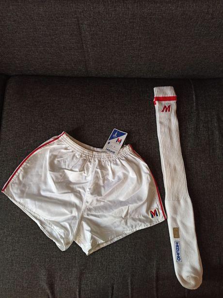 Спортивная форма (шорты и гетры) Mizuno, олимпиада 1980, Япония