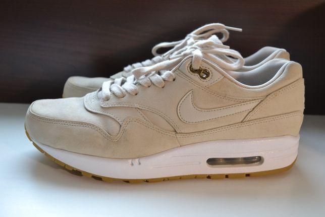 Nike air max 41-42р кроссовки оригинал. кожаные.