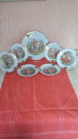 Набор тарелок для десерта