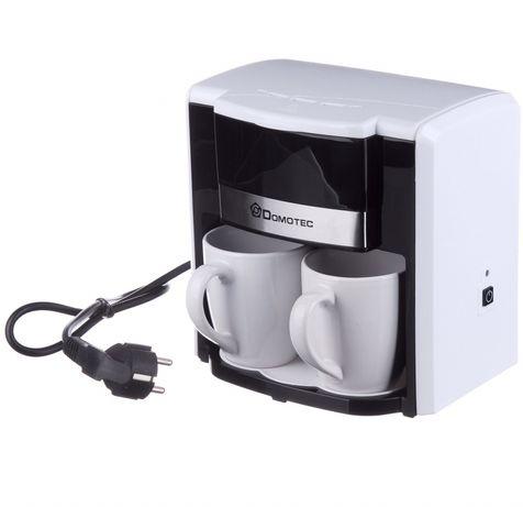 Новая кофеварка Domotec на 2 чашки / капельная кофеварка 500 вт