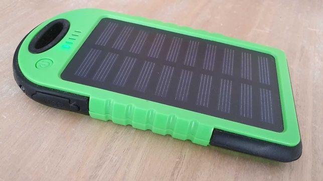 Powerbank Solar / eléctrico 4000 mAh - 2 USB + Micro USB