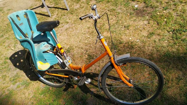 Rower Jubilat 2 retro PRL składak
