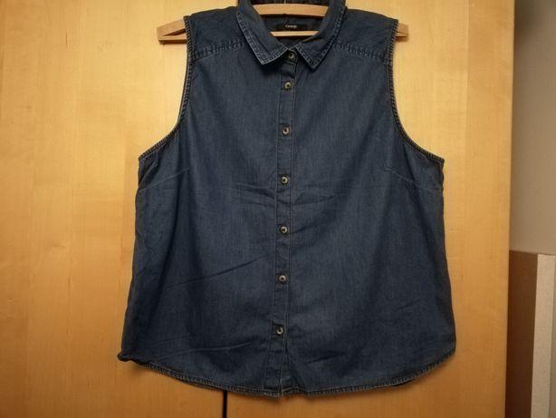 Koszula jeansowa roz 48 xxxl
