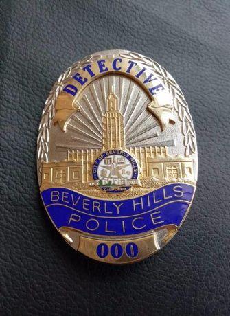 Полицейский жетон детектива США