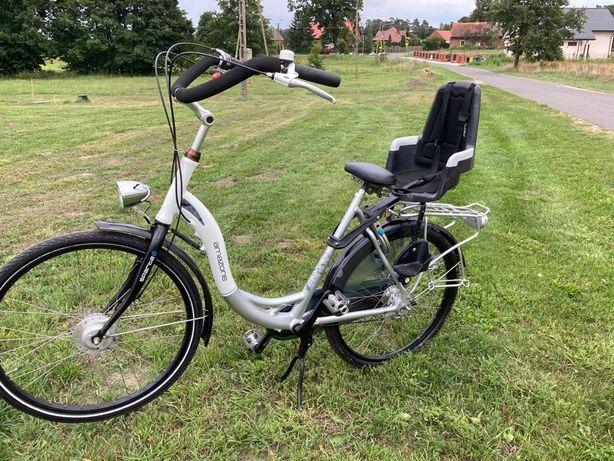 """Rower alu Holender Sparta Amazone Damka + fotelik dla dziecka koła 26"""""""