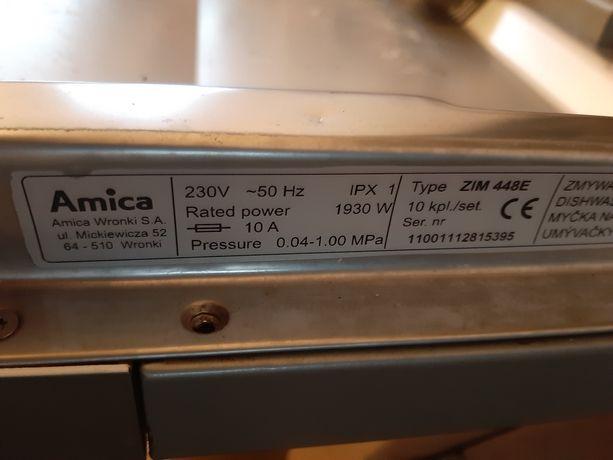 Zmywarka Amica zim448e.  W całości lub na czesci.