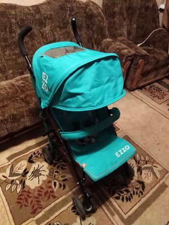 Прогулочная детская коляска - трость EURO-CART EZZO