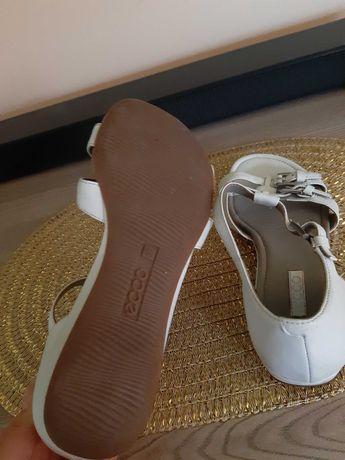 Sandały ecco białe roz. 37