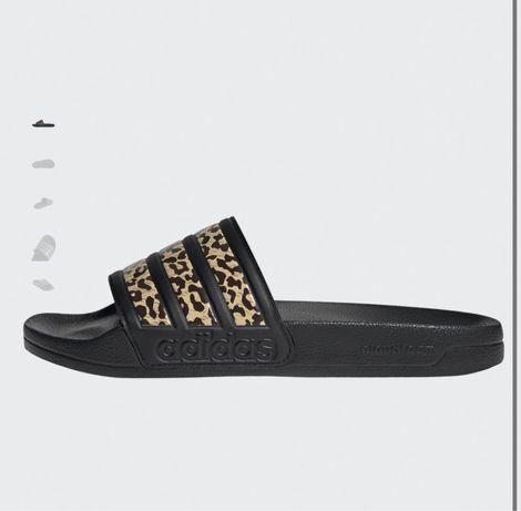 Chinelos adidas leopardo