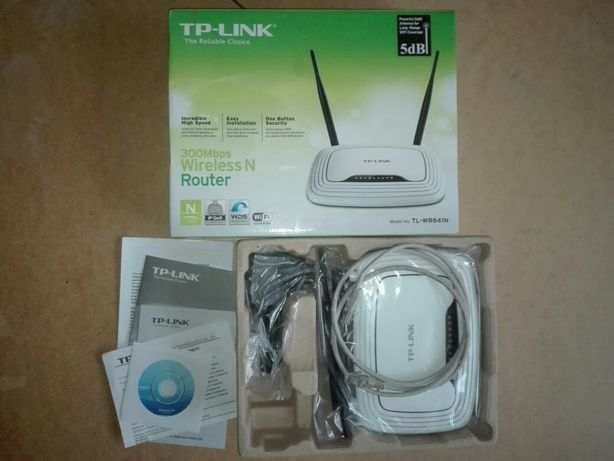 Nowy Router WiFi TP-Link TL-WR841N 300Mbps