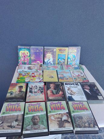 Cassetes de vídeo VHS