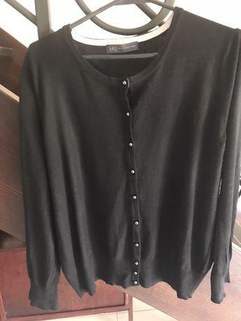 Marks&Spencer czarny sweter 20 kardigan 50