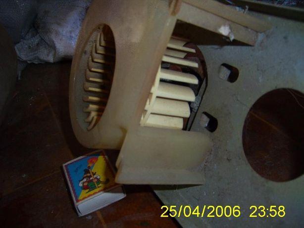 Электродвигатель, лопасть (крыльчатка). для вентилятора.
