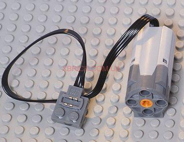 Lego technic детали (лего техник) Мотор ЛЕГО PF (средний M) 58120c01