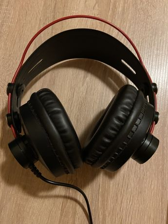 Słuchawki ISK HP580 Czarne Nauszne