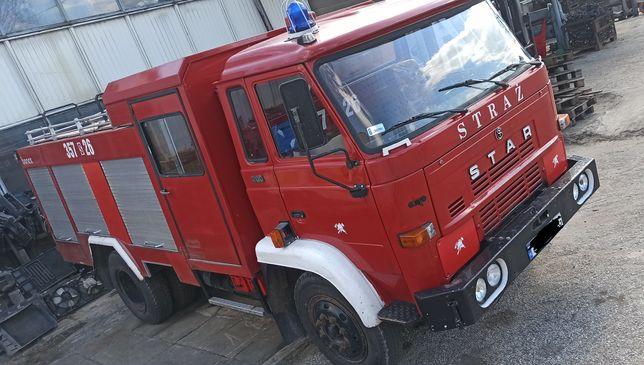 Star 200 straż wóz strażacki silnik skrzynia most