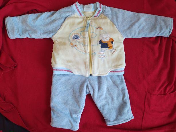 Теплый костюм для малыша