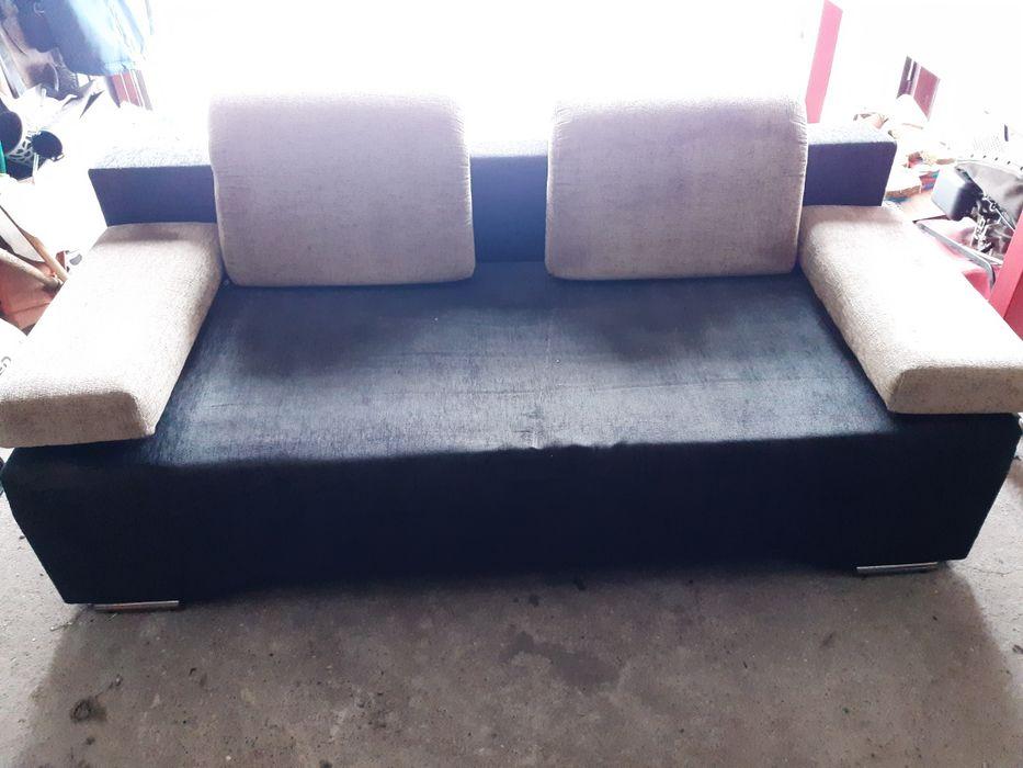Łóżko rozkladane 140x190 z pojemnikiem na posciel Słomniki - image 1