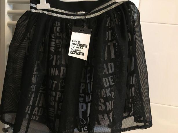 czarna spódnica dziewczęca rozmiar 158