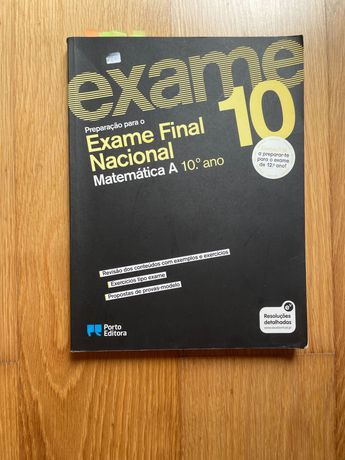 Livro preparação para exame matemática 10 ano