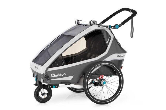Przyczepka rowerowa QERIDOO KIDGOO 2 2020!