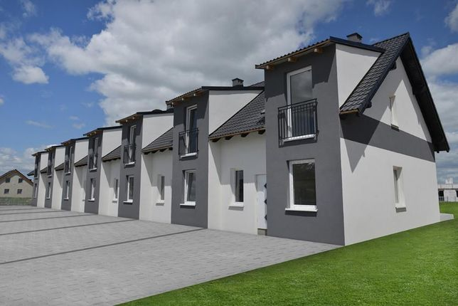 Dom szereg Dobrzykowice 90m2 , duża działka,taras, ogrodzenie
