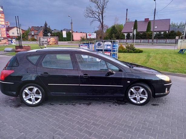 Peugeot 407kombi,hak,1.6HDI,3 lata w PL.2008r,stan bdb.