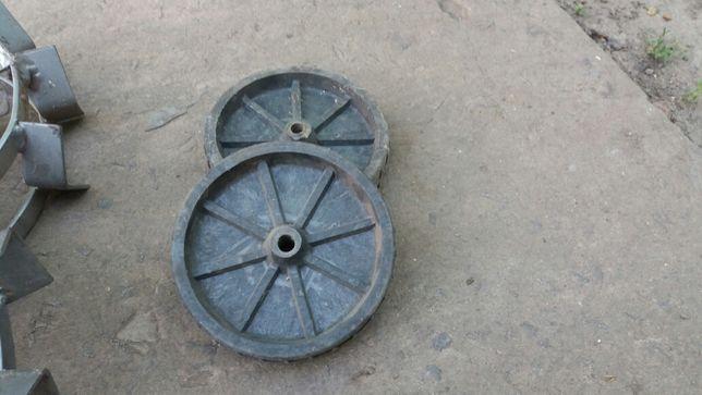 колеса пластмасовые