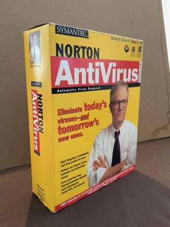 Software Vintage Norton AntiVirus versão 4.0 (1997)