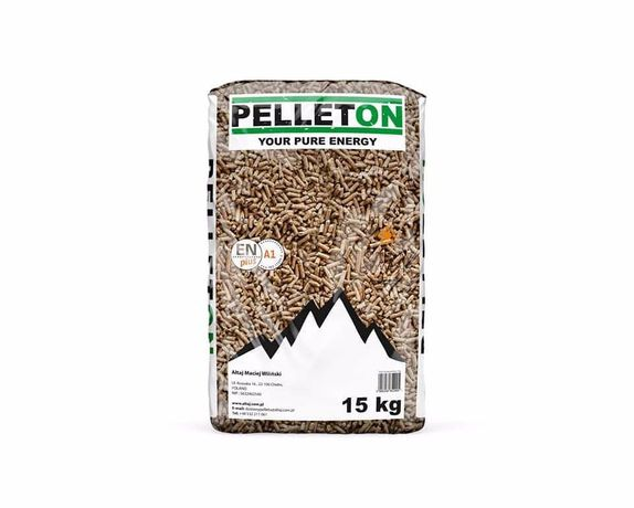 PELLETON EN Plus A1 Transport w Cenie! Certyfikowany Pellet drzewny.