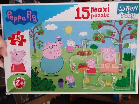 Puzzle świnka peppa 2+ maxi