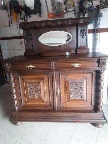 Piękna komoda z nadstawką XIX wiek