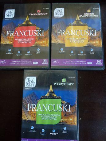 Tell me more- kurs francuskiego do samodzielnej nauki, 3 płyty CD