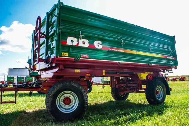 Przyczepa rolnicza burtowa METAL-TECH DB 6 Ton | Metalfach, Pronar
