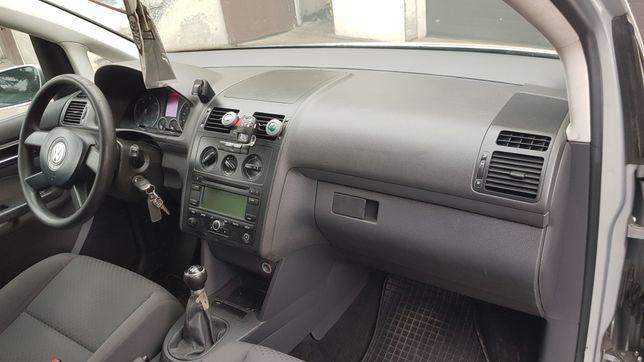 Vw Caddy Touran Deska Konsola Airbag