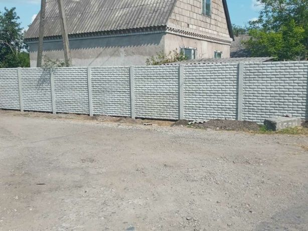 Еврозабор , бетонный забор кривой рог