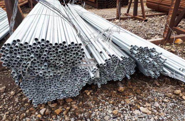 Трубы стальные оцинкованные Ду, оцинкованная труба
