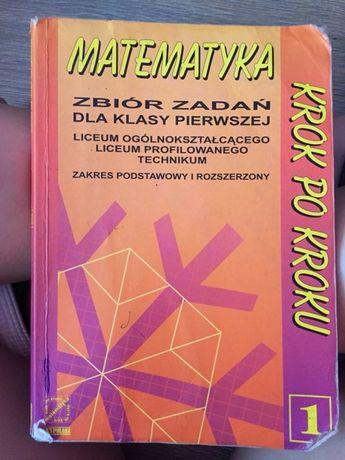 Matematyka zbiór zadań klasa 1 liceum technikum