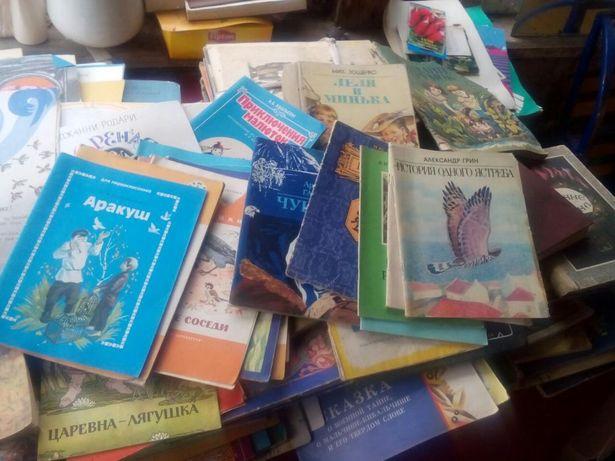 Продам велику колекцію дитячих книжечок радяньського часу.
